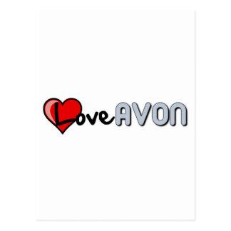 Cartão Postal Amor AVON