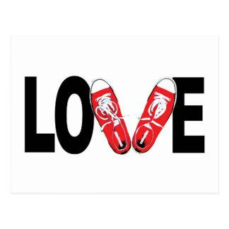 Cartão Postal Amor & calçados