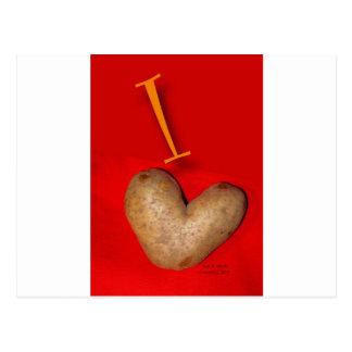 Cartão Postal Amor da batata