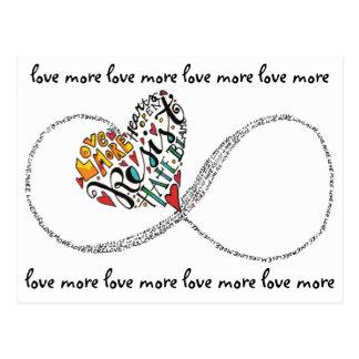 Cartão Postal Amor da infinidade