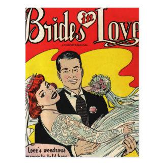 Cartão Postal Amor das noivas
