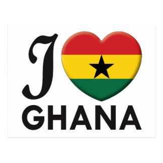 Cartão Postal Amor de Ghana