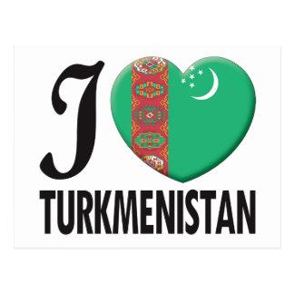 Cartão Postal Amor de Turkmenistan