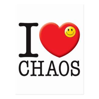 Cartão Postal Amor do caos