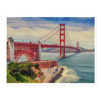 Cartão Postal Amor do Golden Gate