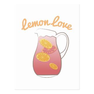 Cartão Postal Amor do limão