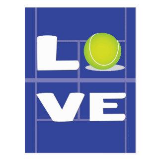 Cartão Postal AMOR do tênis