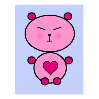 Cartão Postal Amor do ursinho