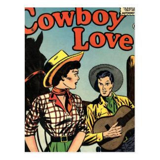 Cartão Postal Amor do vaqueiro