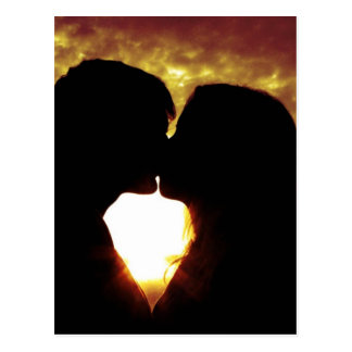 Cartão Postal Amor e verão