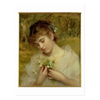 Cartão Postal Amor em uma névoa (óleo em canvas)