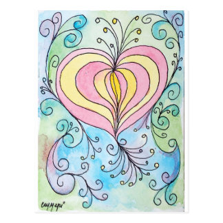 Cartão Postal Amor Enchanted