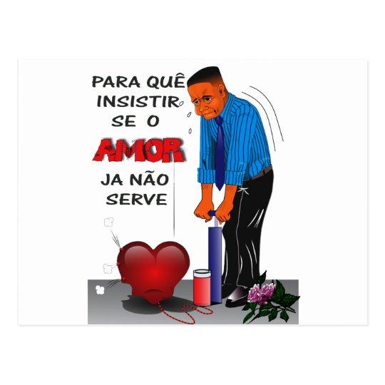 CARTÃO POSTAL AMOR FORÇADO