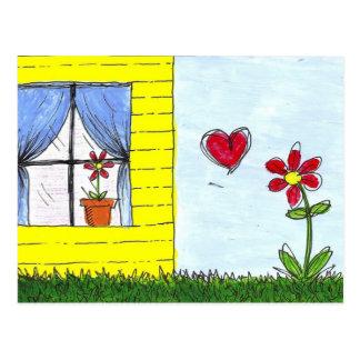 Cartão Postal Amor interurbano