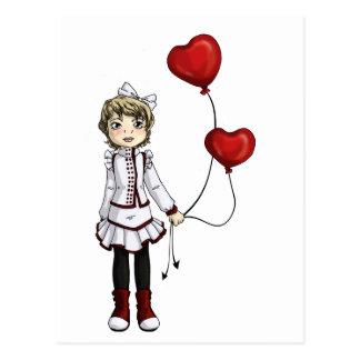 Cartão Postal Amor por uma corda
