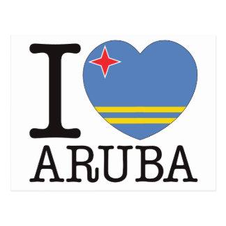 Cartão Postal Amor v2 de Aruba