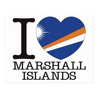 Cartão Postal Amor v2 de Marshall Islands
