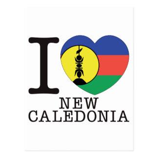 Cartão Postal Amor v2 de Nova Caledônia
