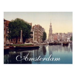 Cartão Postal Amsterdão