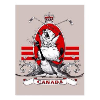 Cartão Postal Anarquia canadense