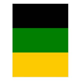 Cartão Postal ANC africano África do Sul do congresso nacional