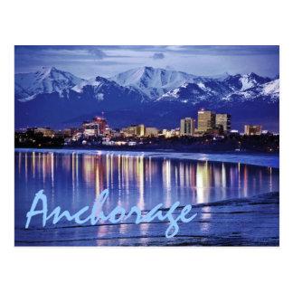 Cartão Postal Anchorage, Alaska, EUA