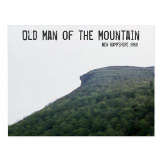 Cartão Postal Ancião da montanha New Hampshire
