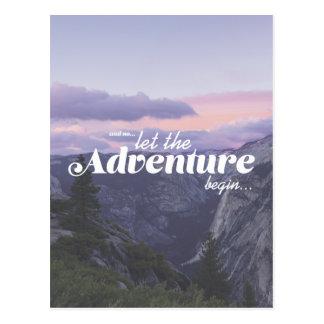 Cartão Postal and assim… the adventure let begin