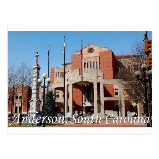 Cartão Postal Anderson, South Carolina