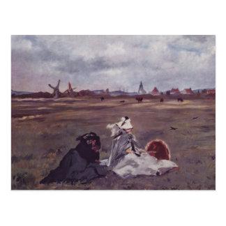 Cartão Postal Andorinhas - Edouard Manet