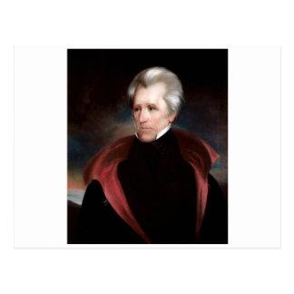 Cartão Postal Andrew Jackson