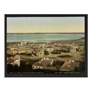 Cartão Postal Andrewski Liman, o Kurhaus, classe de Odessa,