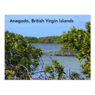 Cartão Postal Anegada BVI