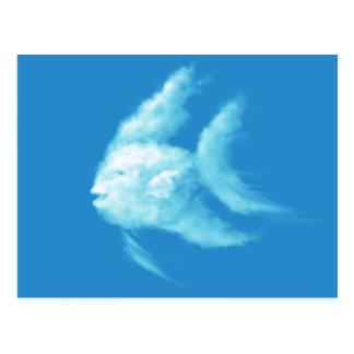 Cartão Postal Angelfish