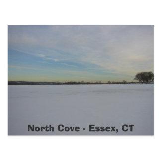 Cartão Postal Angra do ponto do salgueiro, angra norte - Essex,