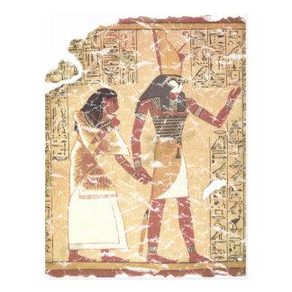 Cartão Postal Ani e Horus