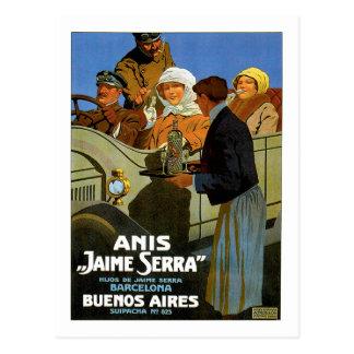 Cartão Postal Anis Jaime Serra Buenos Aires