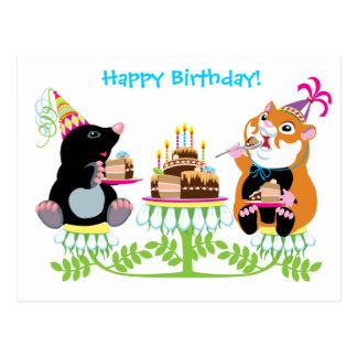 Cartão Postal aniversário