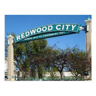 Cartão Postal Aniversário de Redwood City 150th