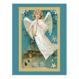 Cartão Postal Anjo com chifres
