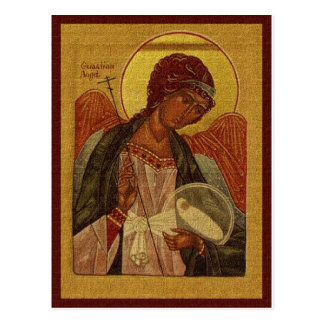 Cartão Postal Anjo-da-guarda ortodoxo
