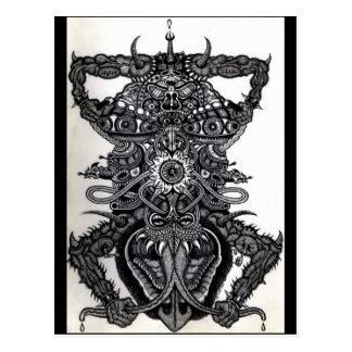 Cartão Postal Anjo da morte