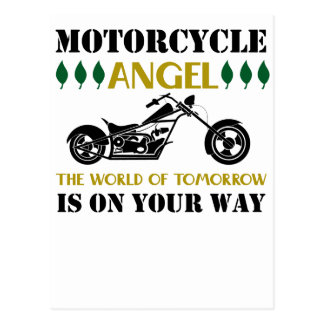 Cartão Postal Anjo da motocicleta