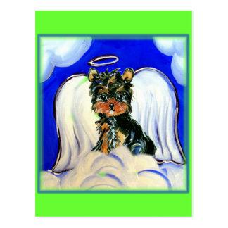 Cartão Postal Anjo de Yorkie Poo
