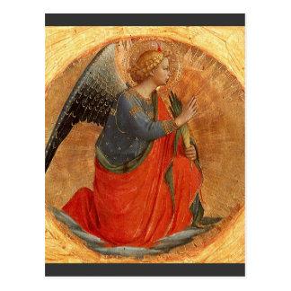 Cartão Postal Anjo do aviso c1437