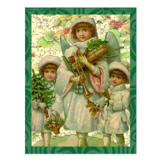 Cartão Postal Anjo do Natal