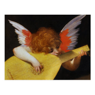 Cartão Postal Anjo italiano do renascimento