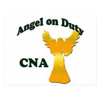 Cartão Postal Anjo no dever