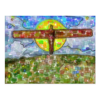 Cartão Postal anjo (watercolour)