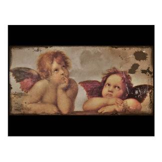 Cartão Postal Anjos do bebê por Raphael